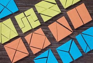 Fabriquer un tangram avec du papier mousse